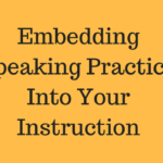 Planned Speaking Practice