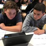 Collaboration is Key in Erik Eve's 8th Grade Classroom