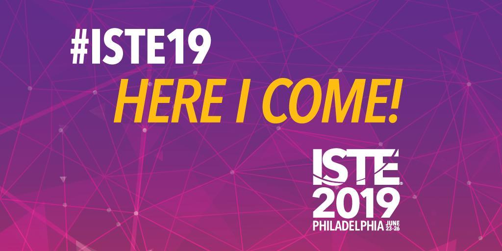 ISTE 2019 presentation