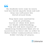 What Teachers Are Saying About Remote/Hybrid Learning with Listenwise