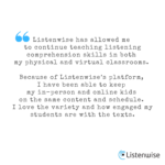 Educators Share Ideas for Teaching with Listenwise
