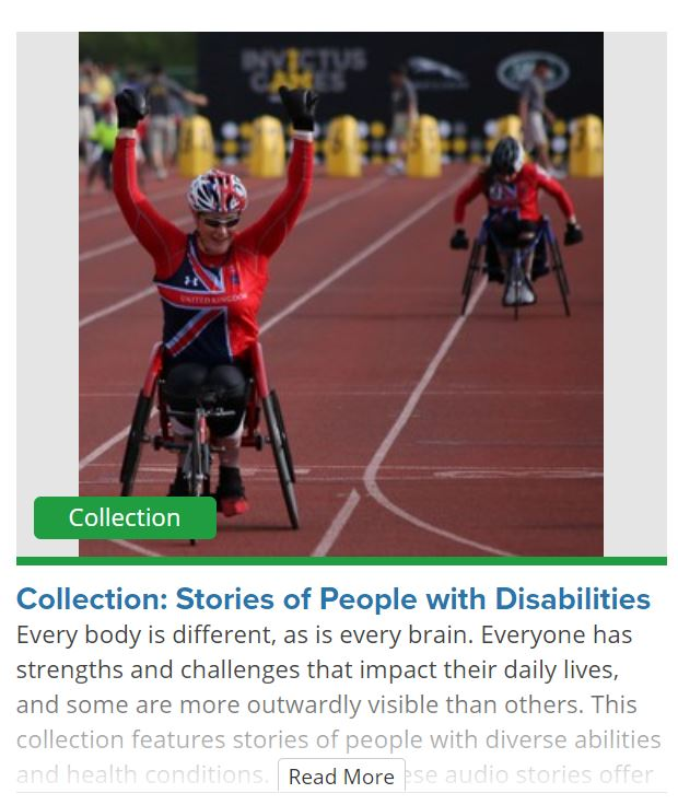 Podcast Collection: Stories of People with Disabilities